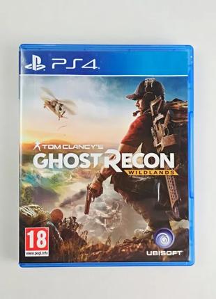 Tom Clancy's Ghost Recon Wildlands / PS4 / Диск / РУС / Наложка