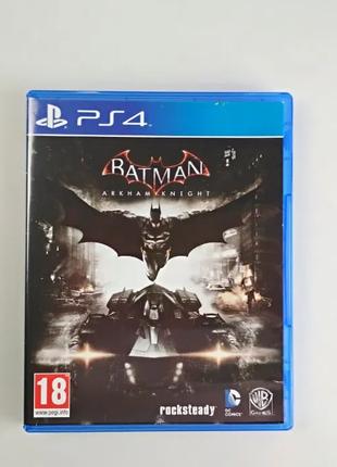 Batman arkham knight на диске PS4 русская версия