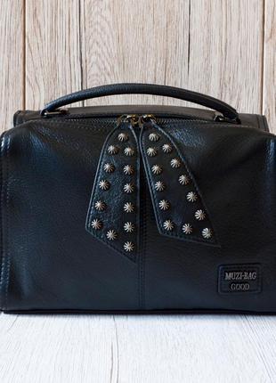 Женская кожаная сумочка polina & eiterou