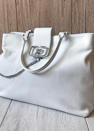 Женская кожаная сумочка  polina&eiterou