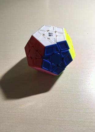 Мегаминкс 3×3 QIYI MoFangGe Qi Heng S Megaminx цветной