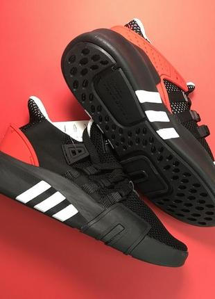 Мужские кроссовки adidas equipment support black red        .