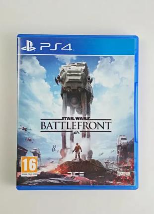 Star Wars Battlefront / Диск / PS4 / полностью на русском языке