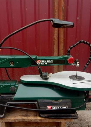 Электролобзик станочный Parkside PDS 120 A1