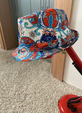Летняя детская шляпа ( головной убор , панамка )