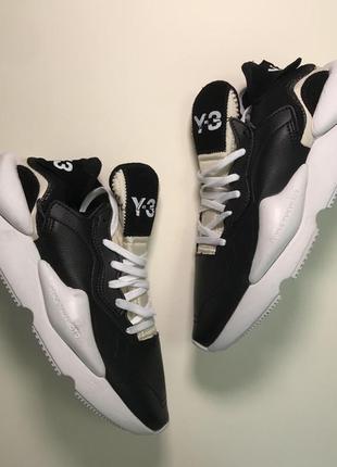 Брутальные мужские кроссовки adidas yohji yamamoto y-3 kaiwa b...