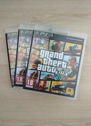 ГТА 5 / Grand Theft Auto V / GTA 5 / на диске для PS3 на русском.