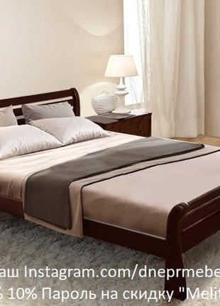 """Кровать """"Верона"""" из дерева сосны, ортопедические ламели, мы в ..."""