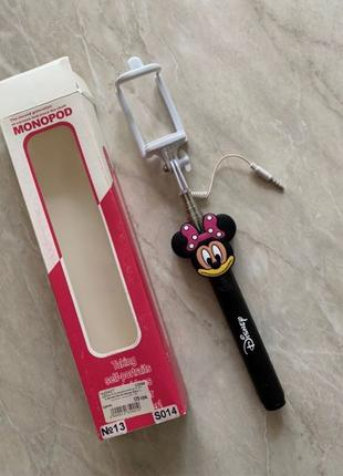 Селфи палка монопод Disney monopod