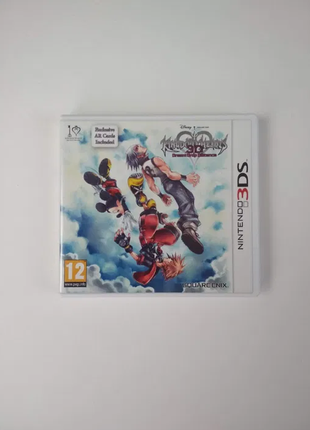 Kingdom Hearts 3D: Dream Drop Distance картридж Nintendo 3DS
