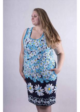 Легкие летние сарафаны женские больших размеров 1580