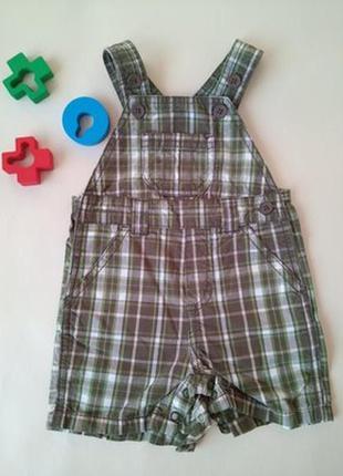 Полукомбинезон шорты для мальчика тм gymboree.