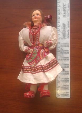 Винтажная кукла ручной работы