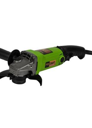 Болгарка Procraft PW1200 • Угловая Шлифмашина • УШМ 125