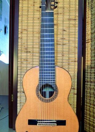 9-ти струнная мастеровая классическая гитара