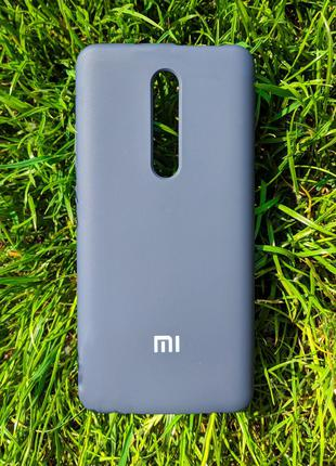 Чохол Silicone Cover для Xiaomi Redmi Mi 9T  Deep Blue