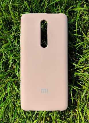Чохол Silicone Cover для Xiaomi Redmi Mi 9T Pink Sand