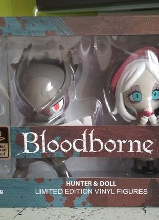 Bloodborne Hunter & Doll ; PS4 коллекционные виниловые фигурки