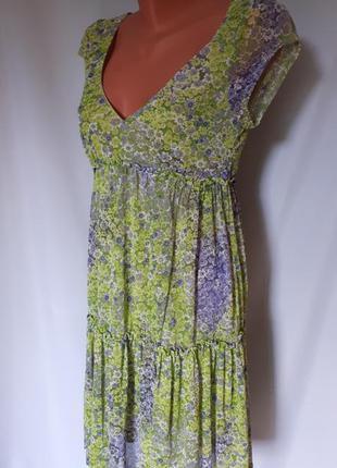 Платье ярусное mango suit (размер 36-38)