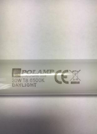 Новая лампа Т8 Polamp 30W 91cм