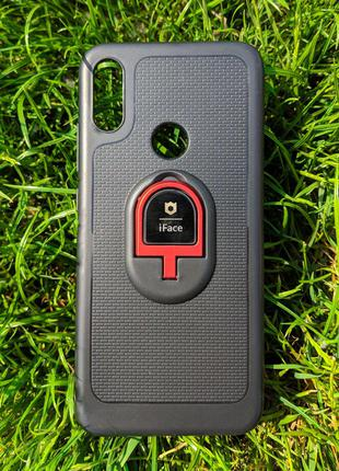 Чохол-накладка iFace Кільце + Магніт для Xiaomi Redmi Note 7