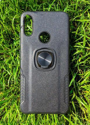 Задня накладка Xiaomi Redmi Note 7 з кільцем Black