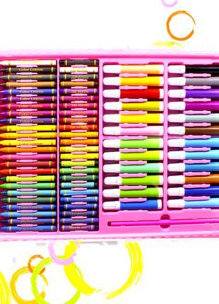 Набор для рисования в кейсе Super Mega Art Set 168 Pink