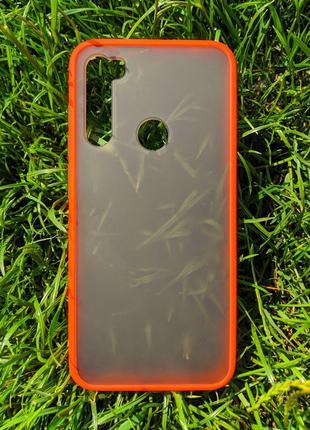 Задня накладка Xiaomi Redmi Note 8 2in1 matte Red