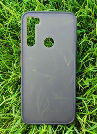 Задня накладка Xiaomi Redmi Note 8 2in1 matte Black