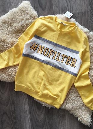 -30% 🔥 clockhouse тренд свитшот xs s m свитер джемпер пуловер ...