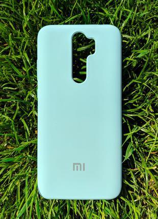 Задня накладка Xiaomi Redmi Note 8 Pro Silicone Cover Lilac Cream