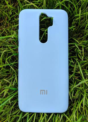 Задня накладка Xiaomi Redmi Note 8 Pro Silicone Cover Turquoise