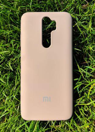 Задня накладка Xiaomi Redmi Note 8 Pro Silicone Cover Lavander