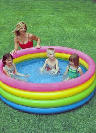 Детский надувной бассейн Intex 56441 Пылающий закат