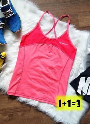 -50% 🔥 soc майка спортивная s-m розовая открытая спина порт бе...
