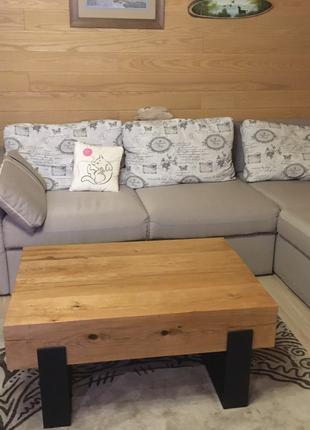 Мебель ЛОФТ, стол ЛОФТ, консоль ЛОФТ, натуральный дуб