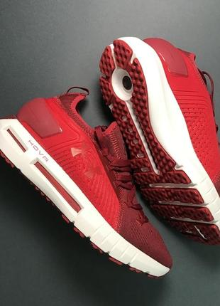 Мужские кроссовки under armour hovr red white .