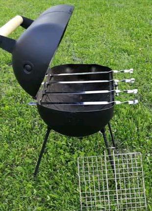 Мангал, печь ракетная, сковорода из диска бороны