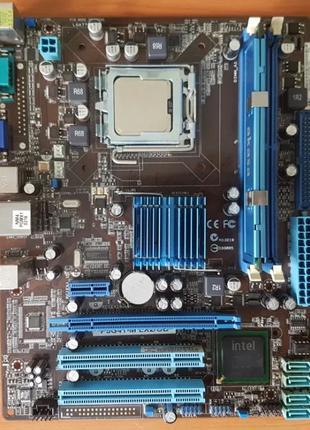 Комплект ASUS P5G41-M LX2/GB+Intel Core 2 Duo E7500+Samsung 1 GB