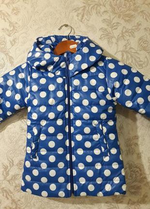 Куртка деми на девочку рост 92