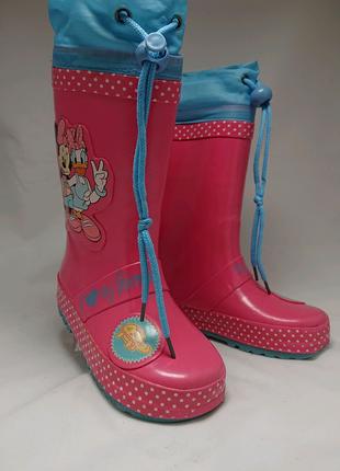 Сапоги резиновые Disney, размер 24