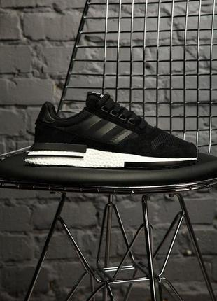 Adidas zx 500 rm boost black/white