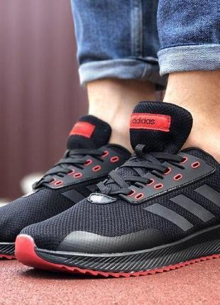 Adidas runner black&red