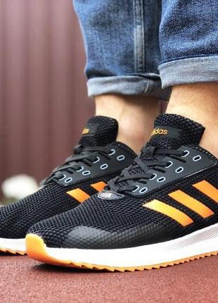 Adidas runner black&orange