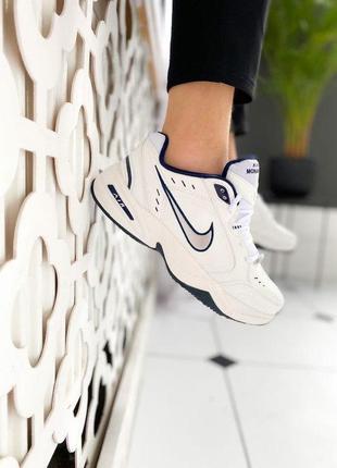 """Nike air monarch iv """"silver white"""""""
