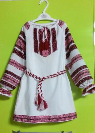 Красивые платья - вышиванки для девочек от года до 17лет