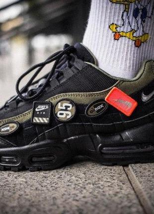 Nike air max 95 black green