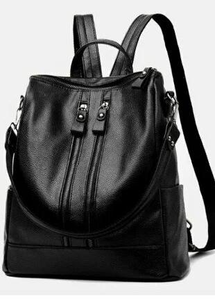 Жіночий рюкзак-сумка fasion новий, чорний