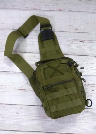 Тактическая сумка-рюкзак / хаки