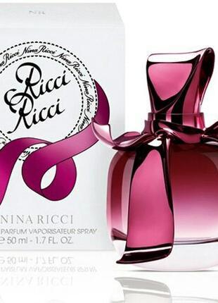 Nina ricci ricci ricci  парфюмированная вода 50мл